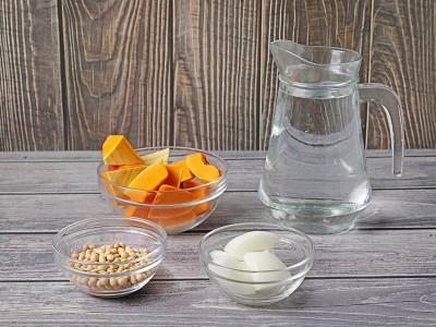 食譜-南瓜豆漿濃湯