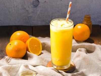 食譜-日出(柳橙氣泡飲)