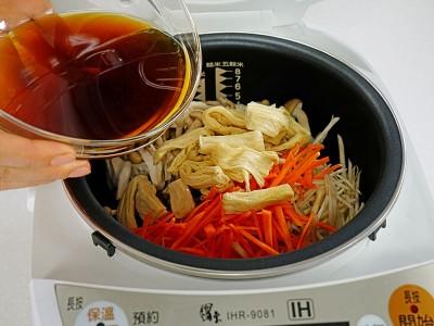 食譜-五目炊飯