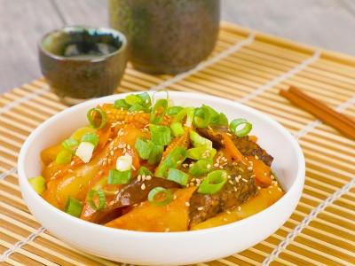 食譜-什錦辣炒年糕