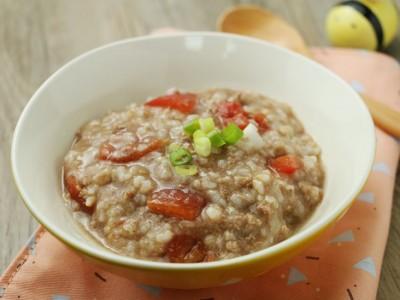 食譜-番茄牛肉糙米粥