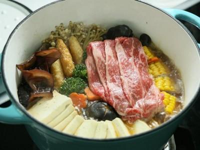 食譜-牛肉壽喜燒