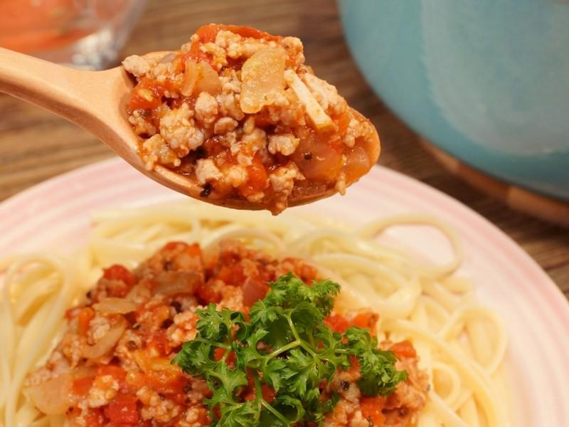 食譜-番茄肉醬汁