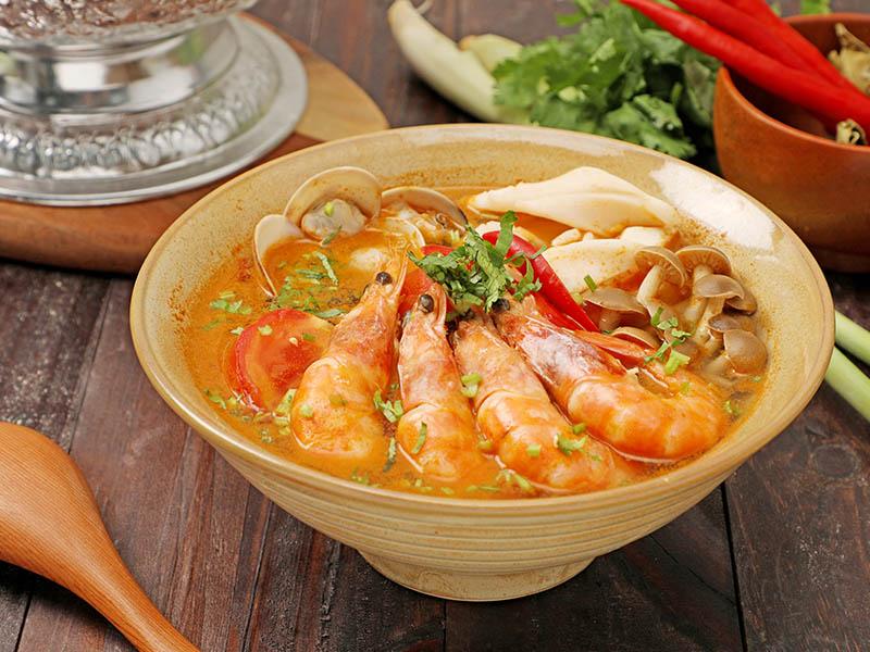 食譜-酸辣海鮮湯