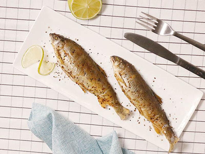 食譜-鹽烤香魚