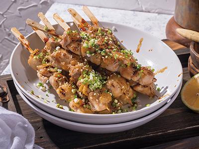 食譜-柚子蜜烤雞肉串